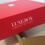 February 2012 Luxebox Arrival + Review