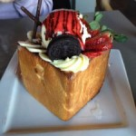 Honey Toast Box @ What8ver Cafe!