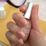 Nail Polish of the Day: Sally Hansen Nurturing Natural + Essie Luxe Effects