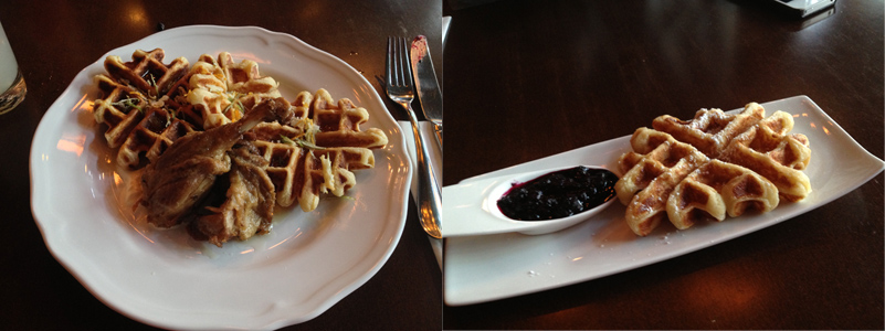 The Waffle Episodes: Caché Bistro and Lounge