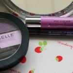 Drugstore Purple Makeup: with Annabelle Quad Eyeshadow + Revlon Just Bitten Balm Stai