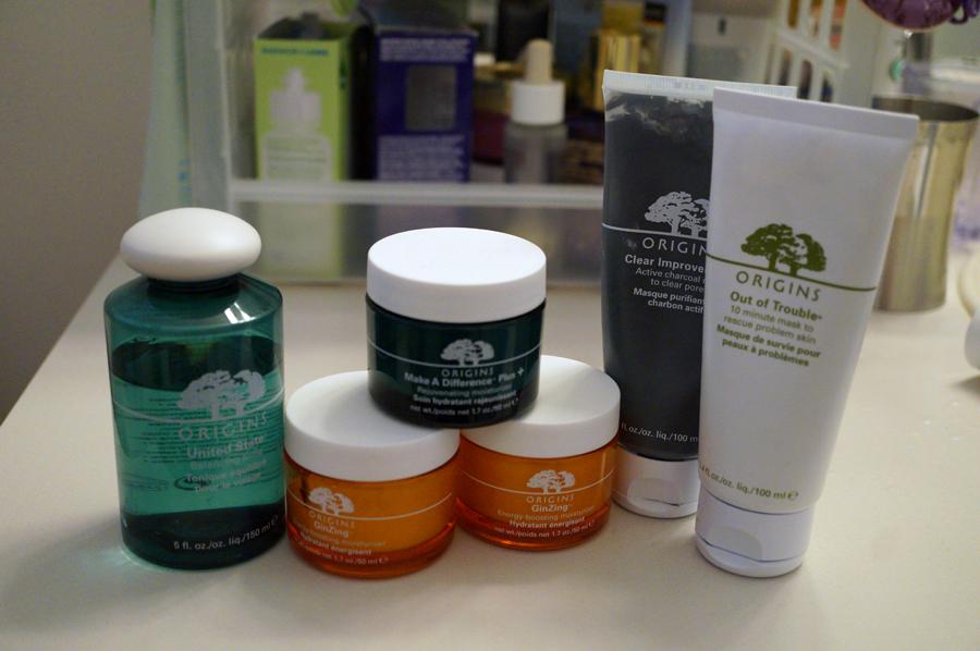 My Origins Skincare Collection