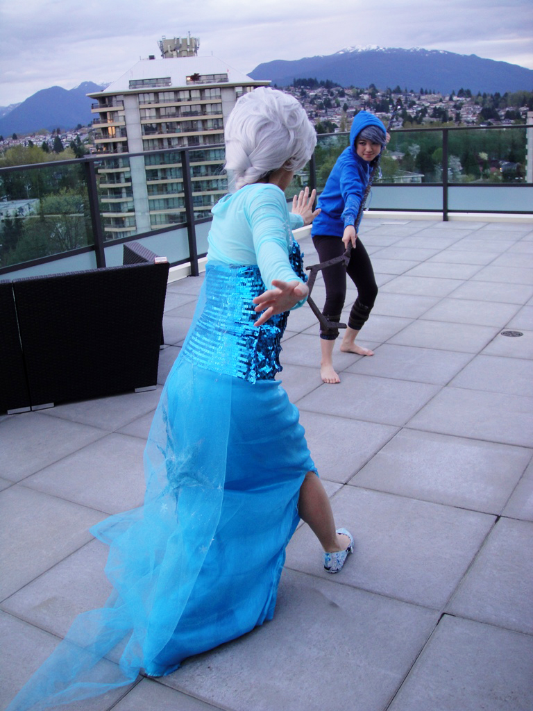 Jack Frost And Elsa Coloring Pages Frozen Cosplay