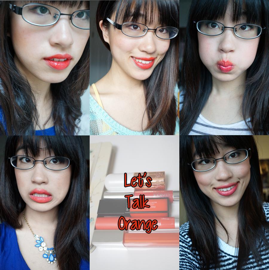 orange lipstick cover photo