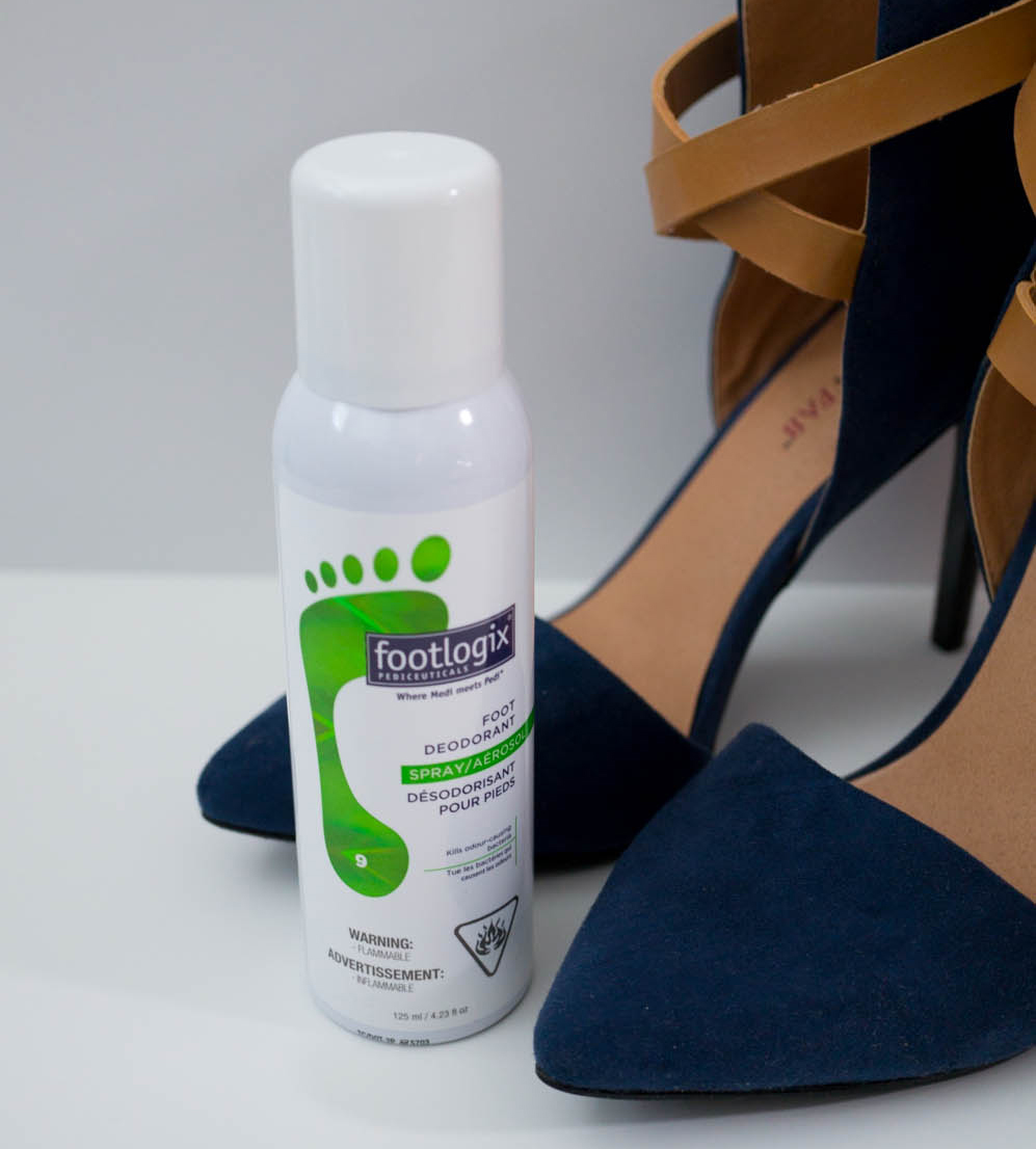 Footlogix foot deodorant spray 2