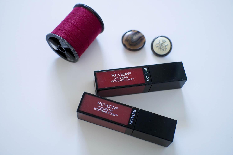Behold them Dark Lips: Revlon Colorstay Moisture Stain New York Scene & Stockholm Chic