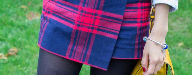 fall ootd tartan skirt-5