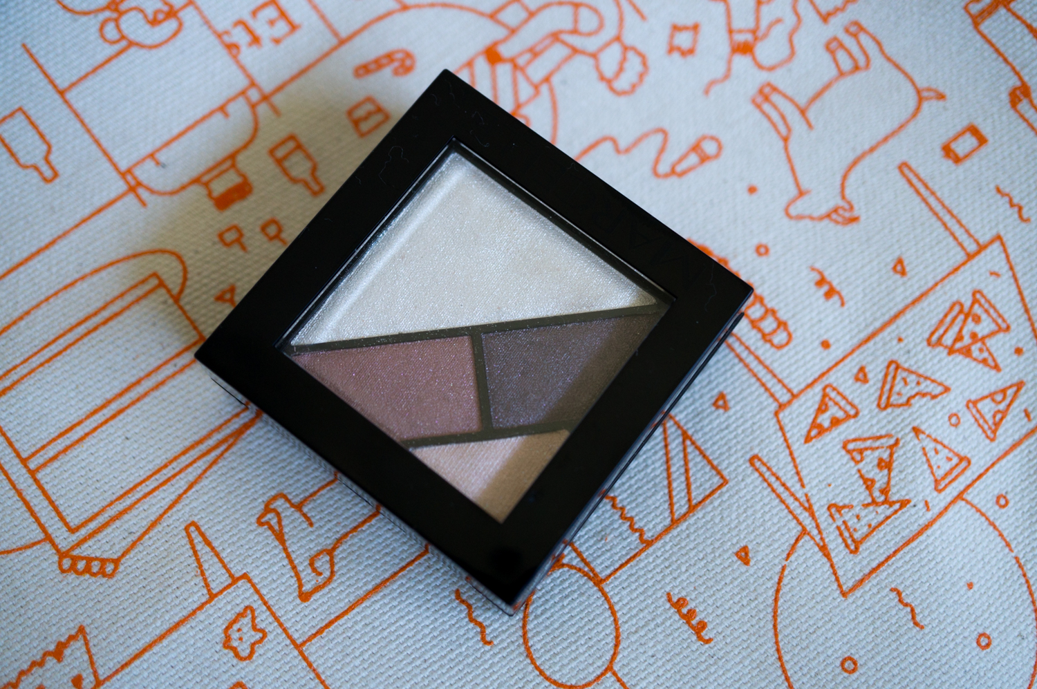 On The Eyes: Marcelle Eye Shadow Trio+ in Smoky Chestnut