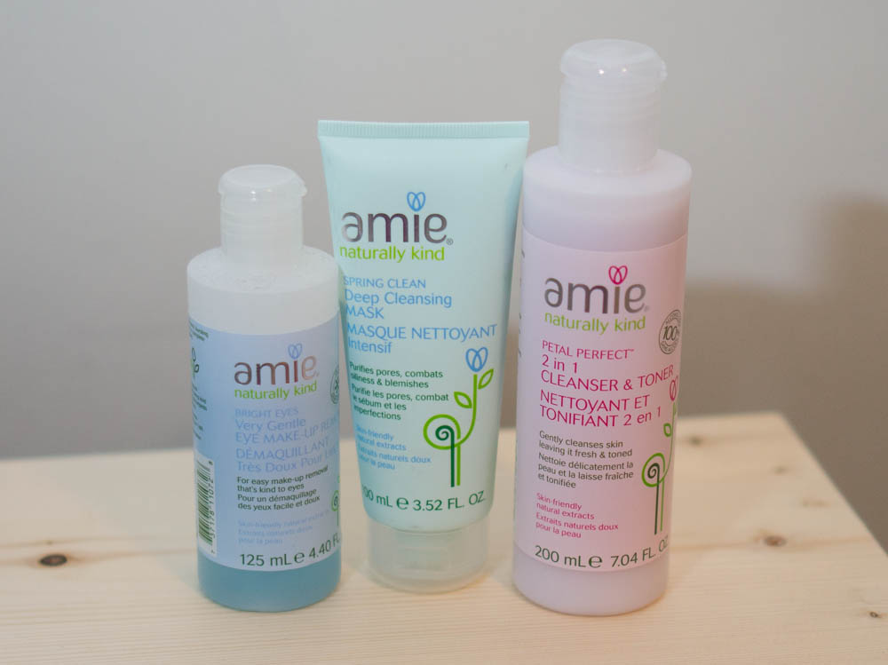Three more Amie Skincare Products