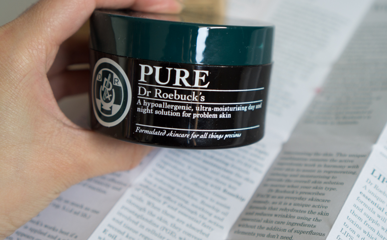 Dr Roebuck's PURE: Hypoallergenic Fragrance Free Ultra Moisturizer